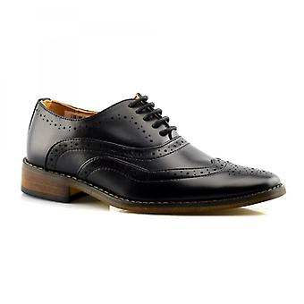 Goor B363 Boys Lace Up 5 Eye Brogue Oxford Chaussure
