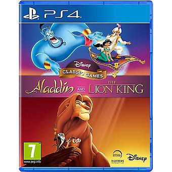 Disney Classic Games Aladdin and The Lion King PS4 Game