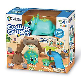 Learning Resources - Coding Critters Rumble & Bumble