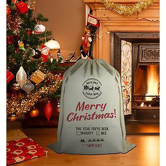 عيد ميلاد سعيد هذا العام أنت & لقد تم... - عيد الميلاد سانتا ساك