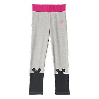 Adidas Little Girls Disney The Mouse Graphic Tight