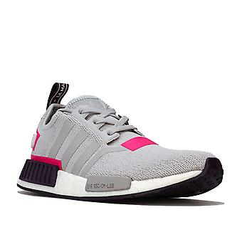 Womens adidas Originals Nmd_R1 Trainers In Grey Two / Shock Pink