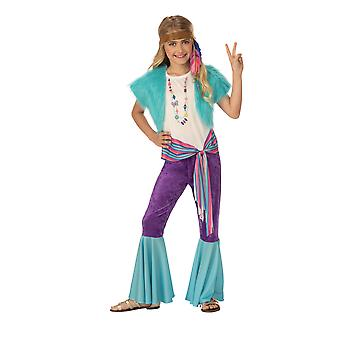 Bristol Novelty Childrens/Girls Hippy Costume
