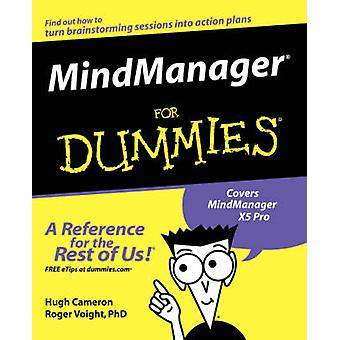 MindManager For Dummies by Hugh Cameron - Roger Voight - 978076455653