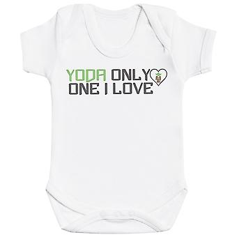 Yoda Only One I Love - Baby Bodysuit