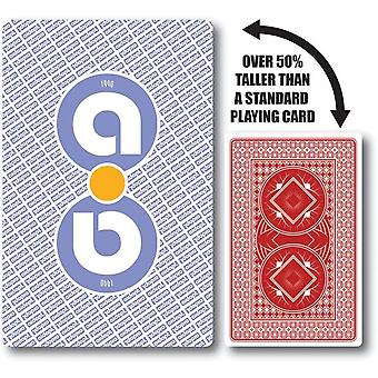 Aidapt speelkaarten groot - 13.6x8.9cm