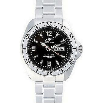 Chris Benz watch diver watch one CBO-S-MB-SI