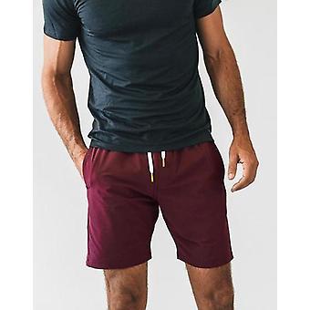Crimson plain shorts