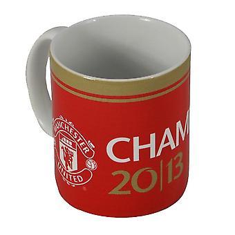 Manchester United FC officiel Champions 2013 Mug