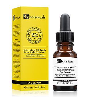 100% natural soft touch super bright eye serum