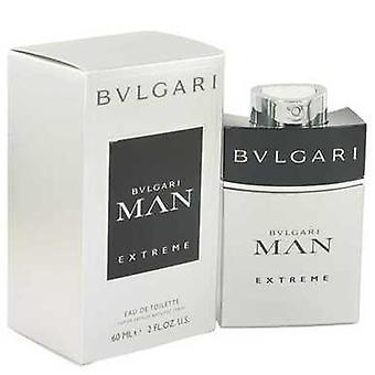 Bvlgari Man Extreme By Bvlgari Eau De Toilette Spray 2 Oz (men) V728-514548