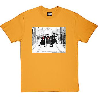 LS Lowry: We'll Do What We Want Yellow Men's T-Shirt