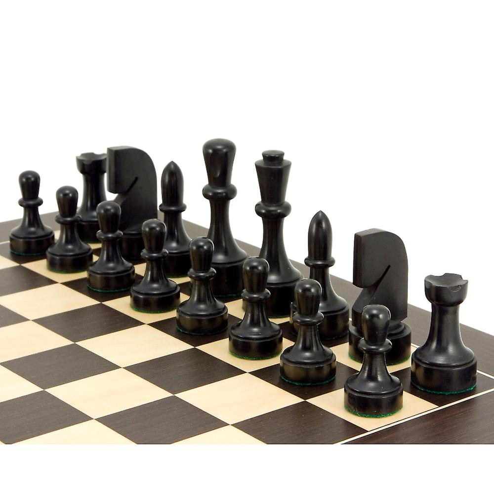 Contemporary Series Wenge Chess Set