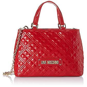 الحب موسكينو Jc4007pp1a حقيبة حمل المرأة الحمراء (الأحمر) 13x22x33cm (W x H x L)