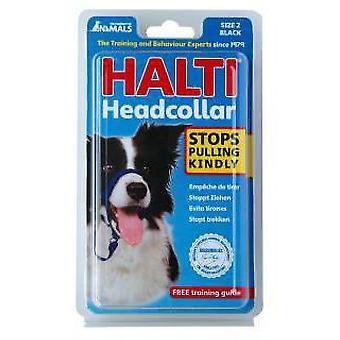 Halti Halti Black Muzzle (Dogs , Training Aids , Leashes, Harnesses & Headcollars)