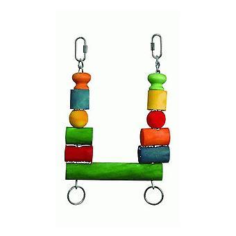 Sandimas Swing Wooden Blocks (Birds , Bird Cage Accessories , Swings)