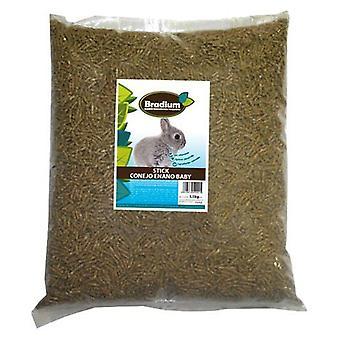 Bradium Bradium Dwarf Rabbit 15Kg Bulk Sticks Baby (Small pets , Dry Food and Mixtures)