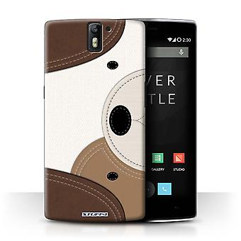 STUFF4 Case/Cover for OnePlus One/Dog/Animal Stitch Effect