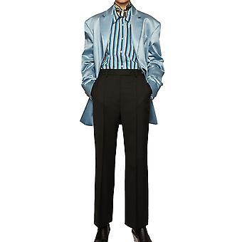 Acne Studios Ak0221900 Women's Black Polyester Pants