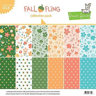 Nurmikko Fawn Fall Fling 12x12 Tuuman Collection Pack