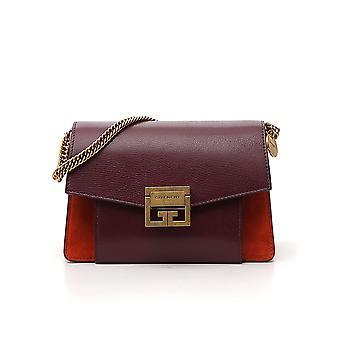 Givenchy Bb501cb033613 Women's Burgundy Leather Shoulder Bag
