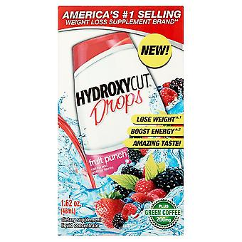 Hydroxycut weight loss drops, fruit punch, 1.62 oz