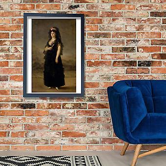 Francisco de Goya - retrato Poster Print poster