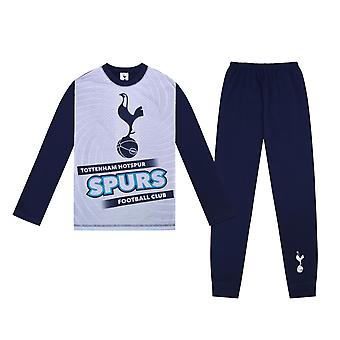 Tottenham Hotspur FC Official Football Gift Boys Sublimation Long Pyjamas
