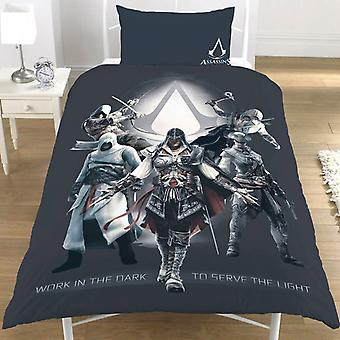 Assassin ' 's Creed duvet set bed set reversible 135 x 200 cm