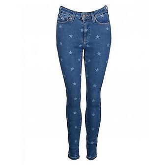 Tommy Hilfiger Star Print Super Skinny Jeans