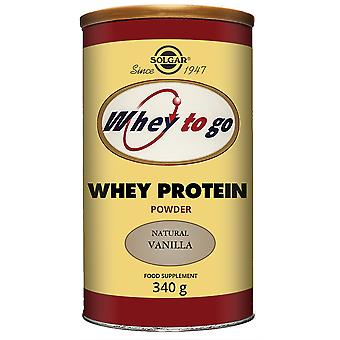 Solgar Whey To Go Protein Powder Vanilla