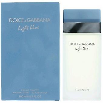 Light Blue von Dolce & Gabbana für Frauen 6,7 oz Eau De Toilette Spray
