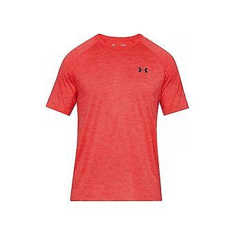 アンダーアーマーUAテックSSティー1326413633トレーニング夏の男性Tシャツ