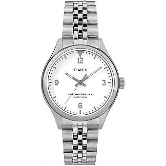 Timex damer ur i Waterbury kvinners 34 mm rustfritt TW2R69400