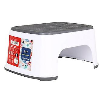 Stool Confortime White Grey
