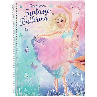Opret din Fantasy Model Malebog Ballet