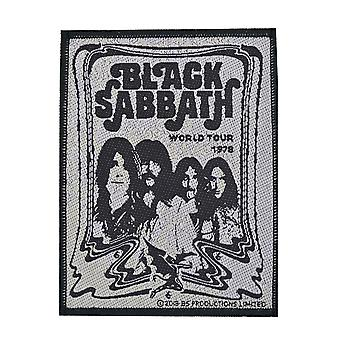 Black Sabbath Band vävda plåster