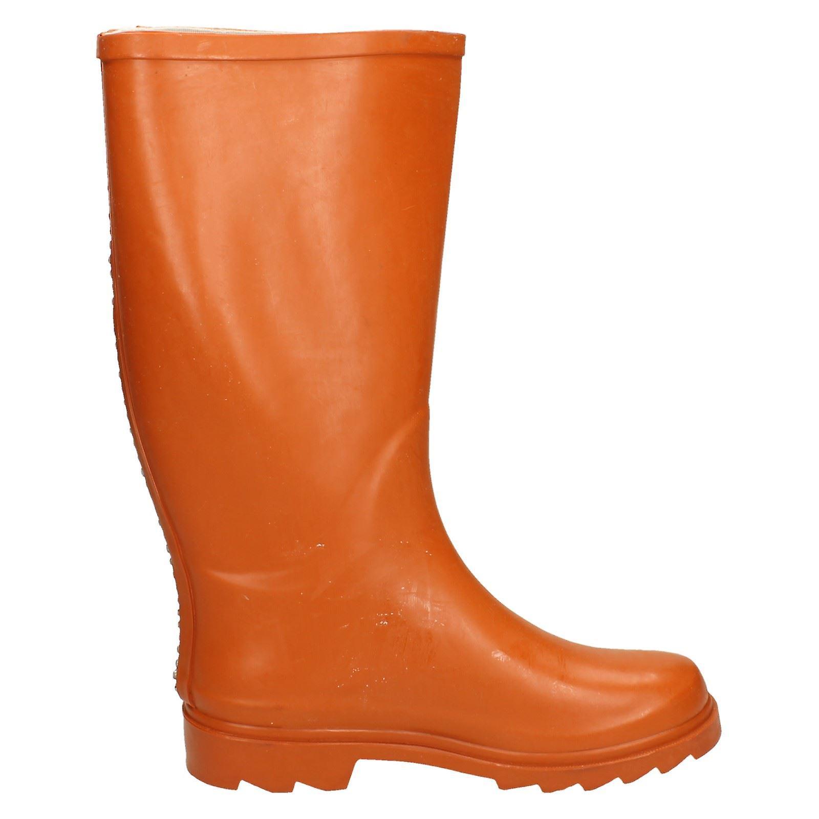 Spot On Womens/Ladies Diamante Stripe Wellington Boots 08X1G