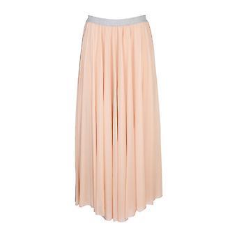 Fabiana Filippi Gnd270w595a946067 Women's Pink Polyester Skirt