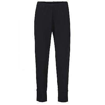 Masai Clothing Pagetta Black Cropped Trousers