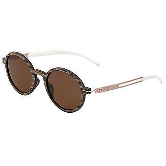 Earth Wood Toco Polarized Sunglasses - Swiss Walnut/Brown