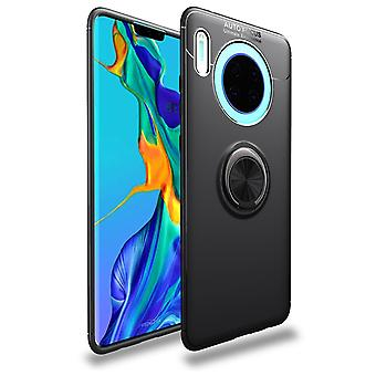 Funda móvil con soporte de anillo Huawei Mate 30 - negro