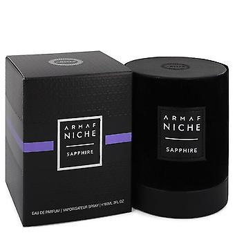 Armaf Niche Sapphire Eau De Parfum Spray By Armaf 3 oz Eau De Parfum Spray