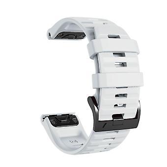 Bracelet for Phoenix 5/6, Forerunner 945, Quatix 5 et al. - White