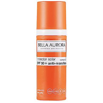 Bella Aurora Sunscreen Spf 50+ Stain Resistant Normal skin - dry 50 ml