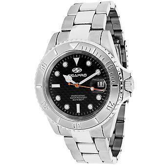 Seapro Men's SXT-R1 Black Dial Watch - 2AP1A1113