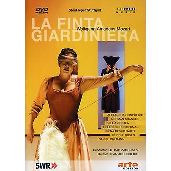 W. a. モーツァルト - Finta Giardiniera ラ 【 DVD 】 USA 輸入