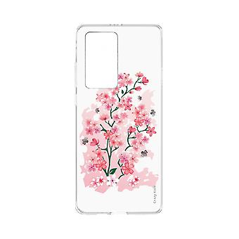 Hull For Huawei P40 Pro Soft Cherry Blossoms