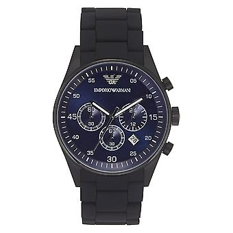 Armani Mens Black Chronograph Guarda Ar5921