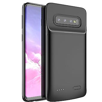 Battery shell 5000mAh - compatible with Samsung Galaxy S10 Plus - black